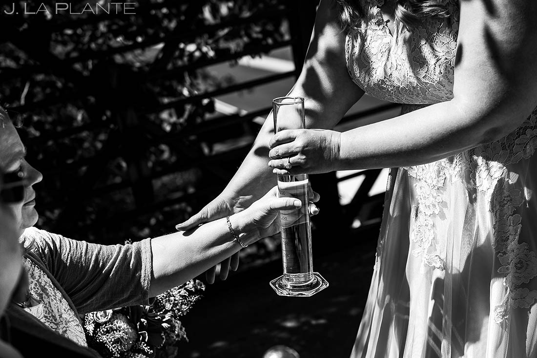 Creative Unity Ceremony | Beaver Creek Skier Bridge Wedding Ceremony | Beaver Creek Lodge Wedding | Beaver Creek Wedding Photographer | J. La Plante Photo