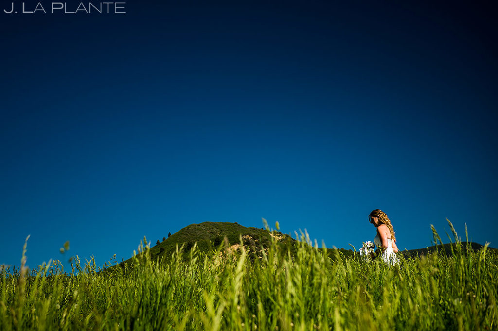Rustic Colorado Wedding Ceremony | White Owl Ranch Wedding | Colorado Wedding Photographer | J. La Plante Photo