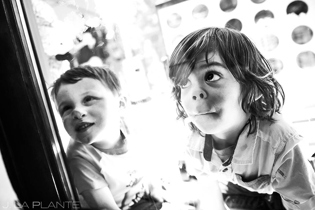 Cute Kids at Weddings | Revolution Dining Wedding Reception | Beaver Creek Lodge Wedding | Beaver Creek Wedding Photographer | J. La Plante Photo