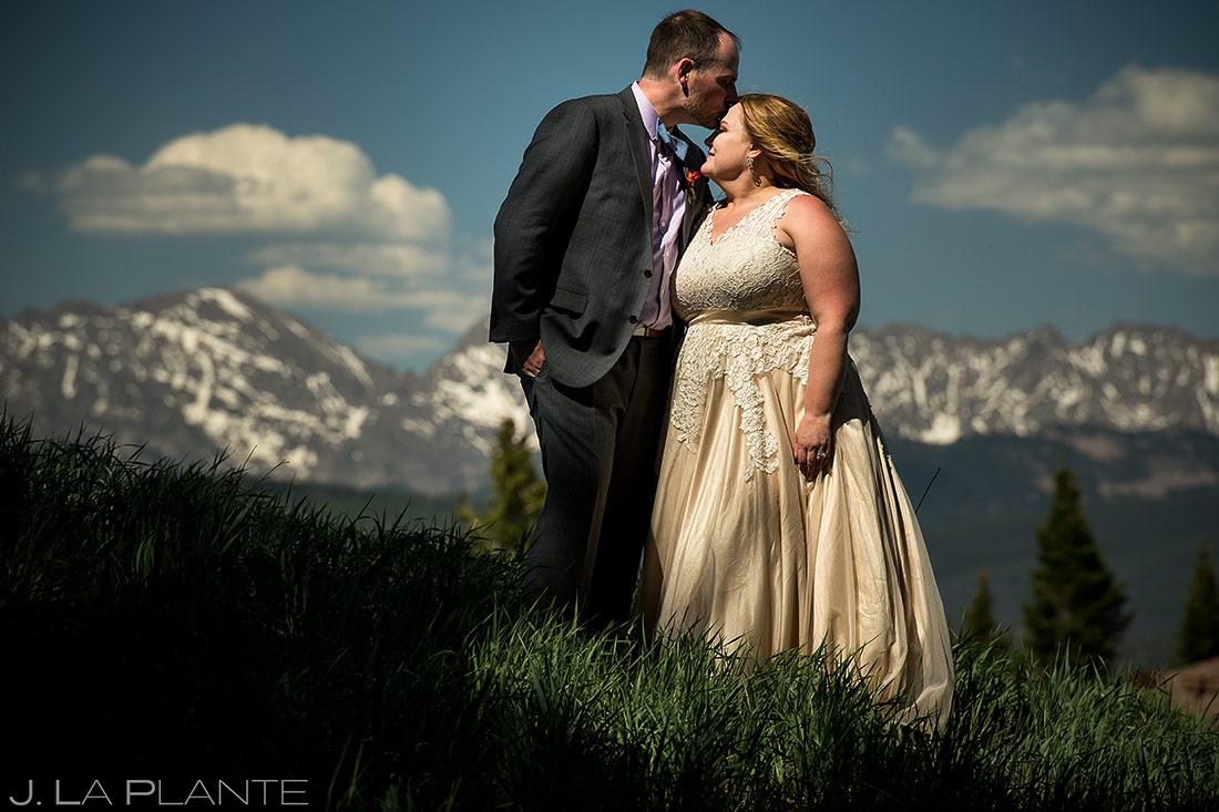 Bride and Groom Portrait | Colorado Wedding Photographer | J. La Plante Photo
