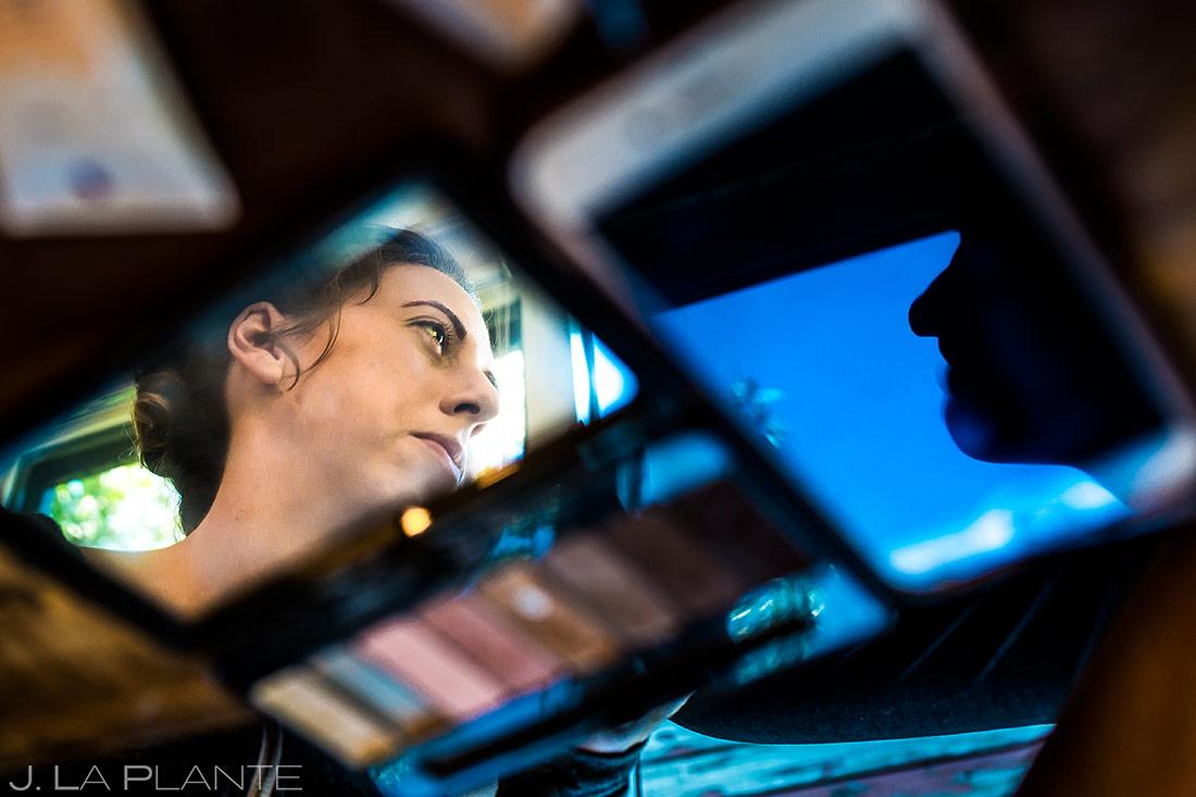 Bride Getting Ready | Colorado Wedding Photographer | J. La Plante Photo