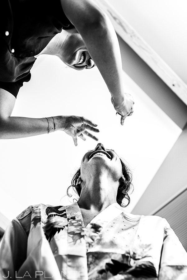 Bride Getting Ready | Boulder Wedding Photographer | J. La Plante Photo