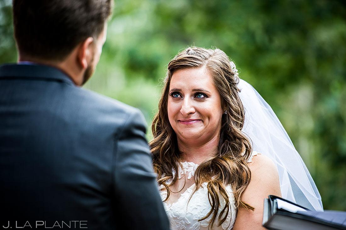 Outdoor Wedding Ceremony   Colorado Springs Wedding Photographer   J. La Plante Photo