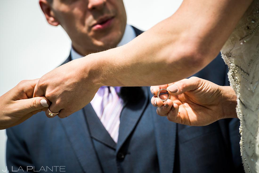 Wedding Ceremony | Colorado Wedding Photographer | J. La Plante Photo