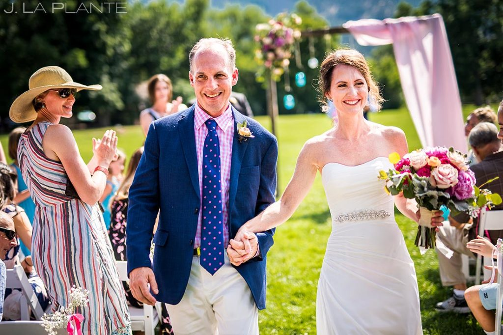 Boulder Wedding Ceremony | Chautauqua Park Wedding | Boulder Wedding Photographer | J. La Plante Photo