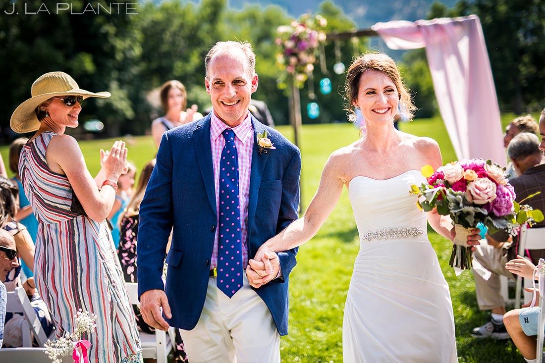 Boulder Wedding Ceremony | Chautauqua Park Wedding | Boulder Wedding Photographer | J. La Plante Photo