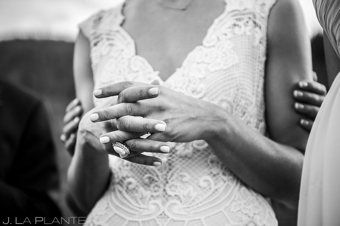 Groom Signing Marriage License | Vail Wedding Photographer | J. La Plante Photo