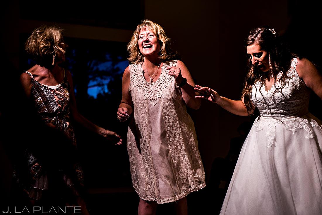 Wedding Reception Dance Party   Colorado Springs Wedding Photographer   J. La Plante Photo