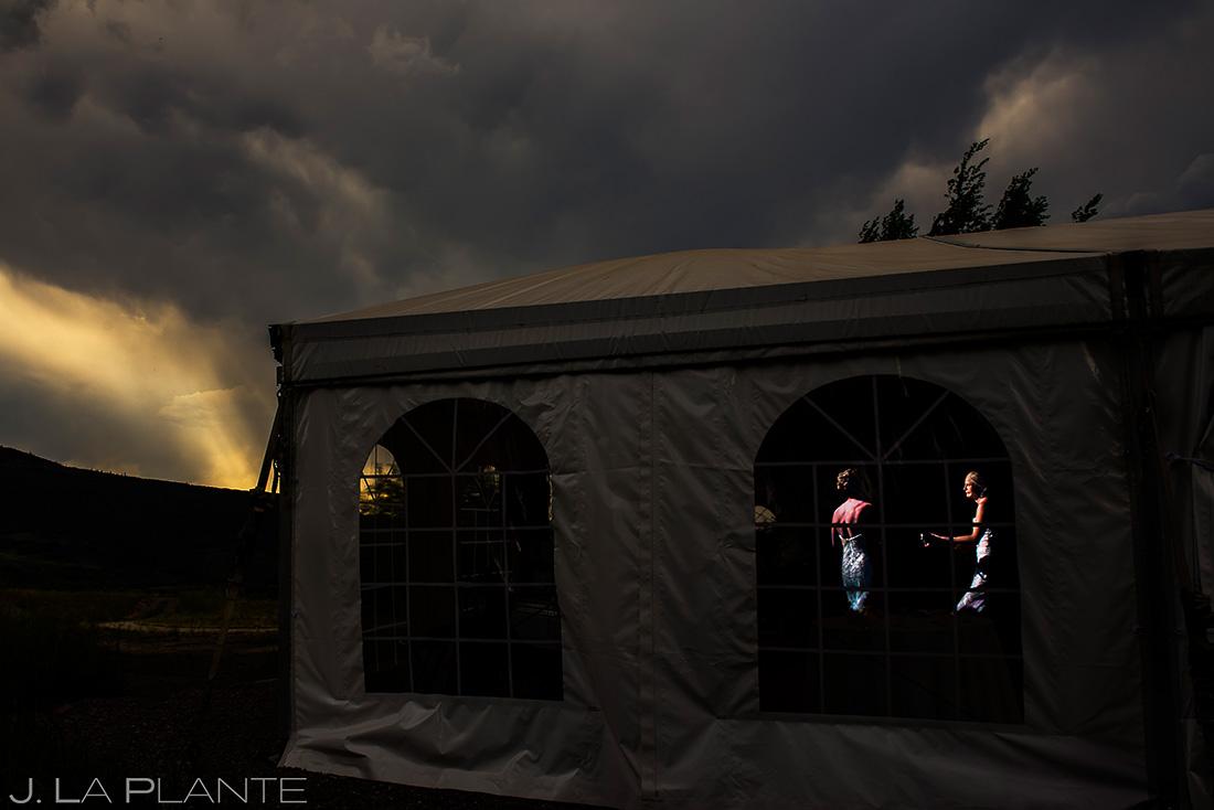 Bride and Bride First Dance | Colorado Wedding Photographer | J. La Plante Photo