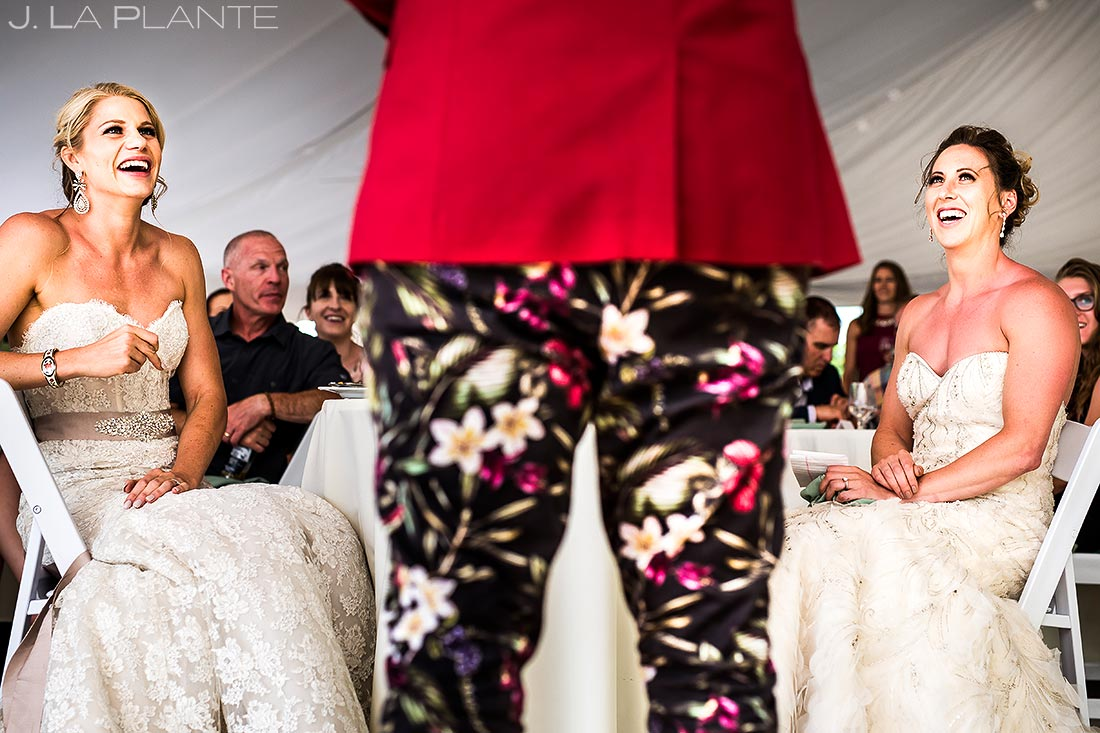 Wedding Speeches | Steamboat Springs Wedding | Colorado Wedding Photographer | J. La Plante Photo