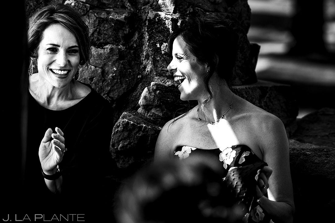 Cocktail Hour Wedding Guests | Boulder Wedding Photographer | J. La Plante Photo