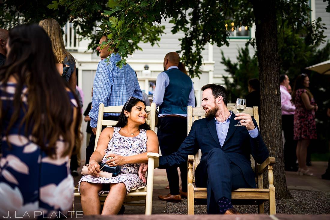 Cocktail Hour Wedding Guests | Chautauqua Park Wedding | Boulder Wedding Photographer | J. La Plante Photo