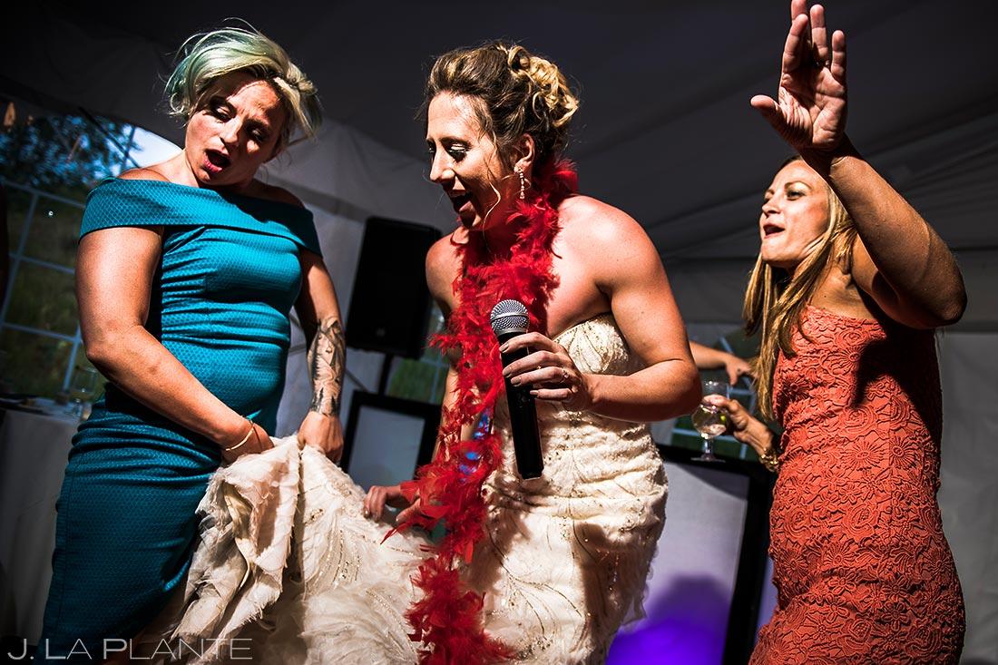 Wedding Reception Dance Party | Colorado Wedding Photographer | J. La Plante Photo