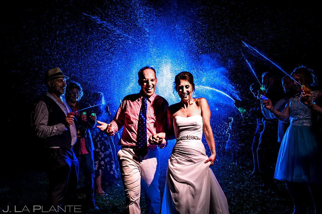 Unique Wedding Send Off Ideas | Chautauqua Park Wedding | Boulder Wedding Photographer | J. La Plante Photo