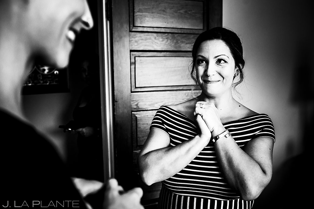 Bride Getting Ready | Manor House Wedding | Denver Wedding Photographer | J. La Plante Photo