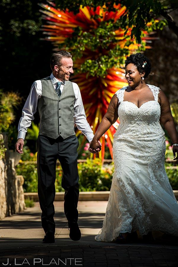 Bride and Groom Portrait | Denver Botanic Gardens Wedding | Denver Wedding Photographer | J. La Plante Photo