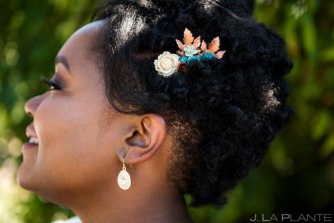 Bridal Portrait | Denver Botanic Gardens Wedding | Denver Wedding Photographer | J. La Plante Photo