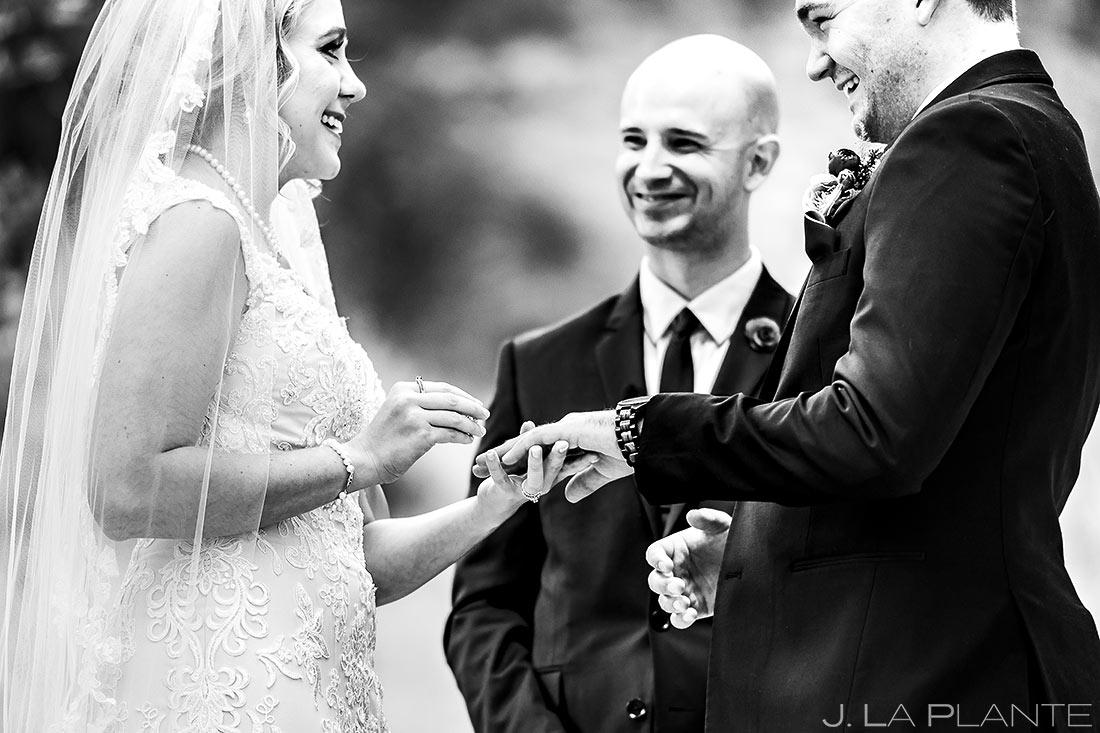 Mountain Wedding Ceremony | Estes Park Wedding Photographer | J. La Plante Photo