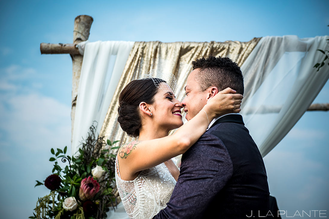Outdoor Wedding Ceremony | Manor House Wedding | Denver Wedding Photographer | J. La Plante Photo