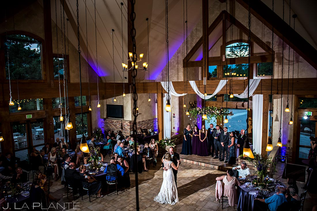 Father Daughter Dance | Della Terra Wedding | Estes Park Wedding Photographer | J. La Plante Photo
