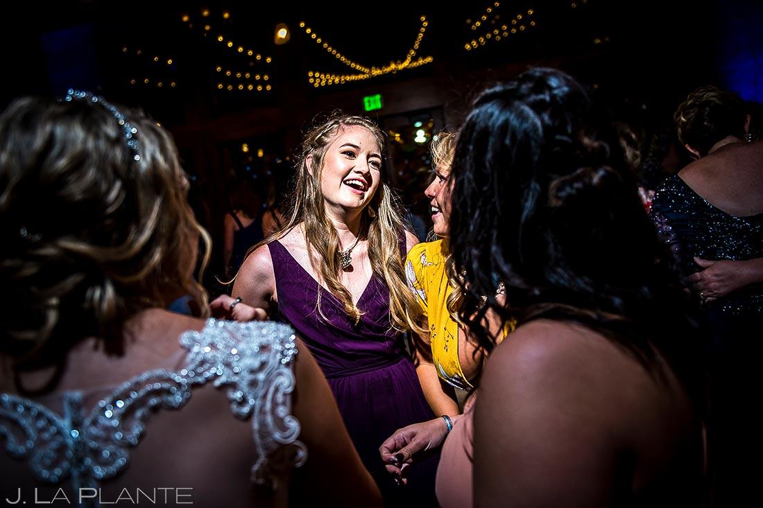 Bridesmaids Dancing | Estes Park Wedding Photographer | J. La Plante Photo