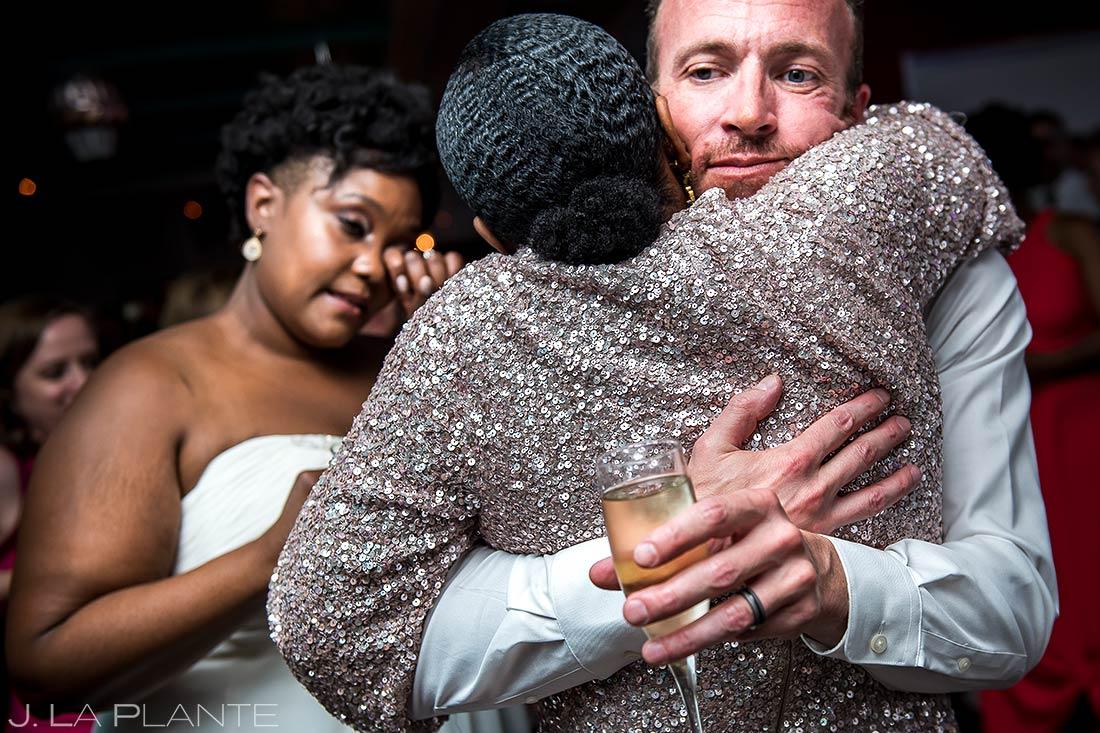 Maid of Honor Speech | Denver Botanic Gardens Wedding | Denver Wedding Photographer | J. La Plante Photo