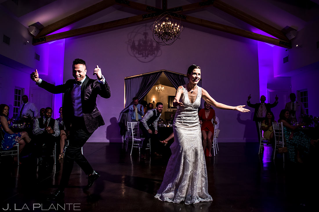 Bride and Groom First Dance | Manor House Wedding | Denver Wedding Photographer | J. La Plante Photo