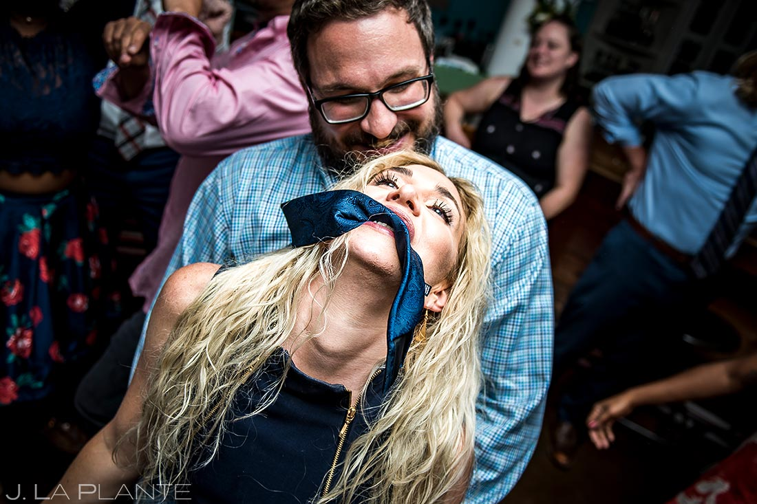 Wedding Reception Dance Party | Denver Botanic Gardens Wedding | Denver Wedding Photographer | J. La Plante Photo