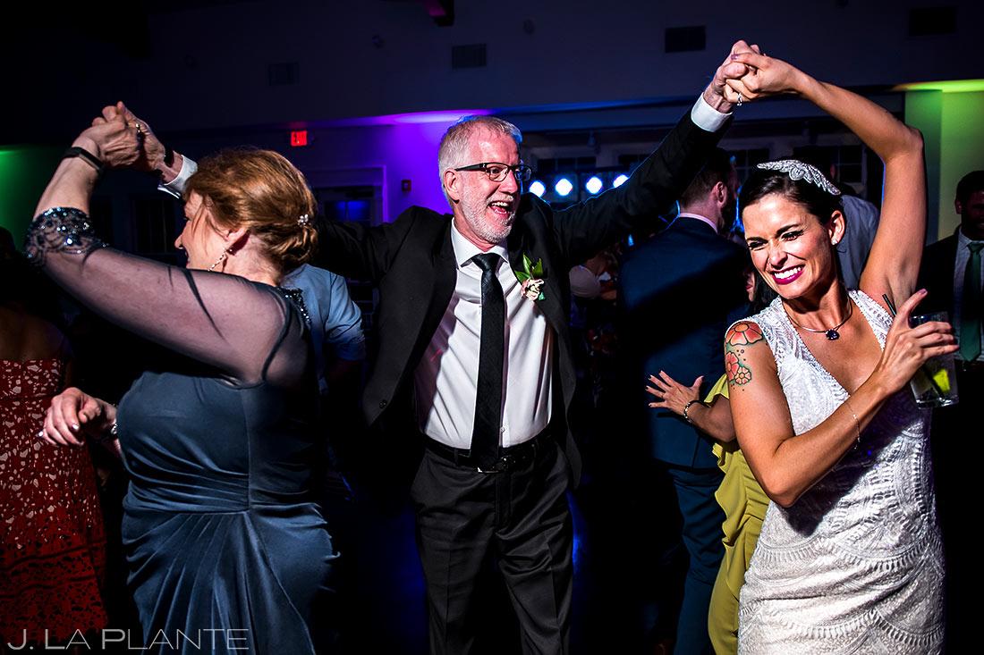 Wedding Reception Dance Party | Manor House Wedding | Denver Wedding Photographer | J. La Plante Photo