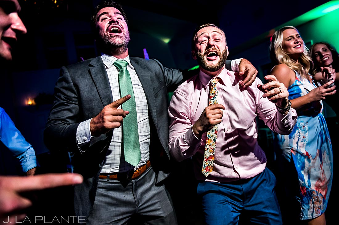 Wedding Reception Dance Party | Littleton Colorado Wedding | Denver Wedding Photographer | J. La Plante Photo