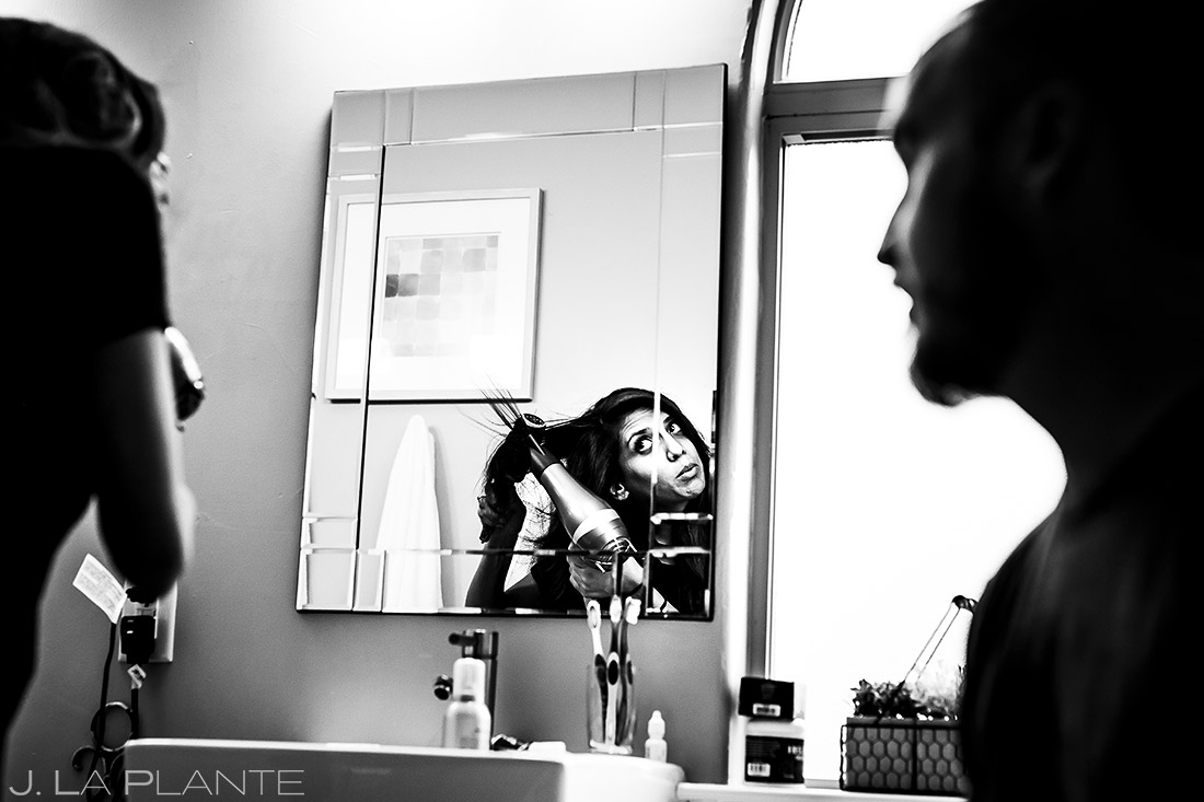 Bride Getting Ready | Dallas Winery Wedding | Destination Wedding Photographer | J. La Plante Photo