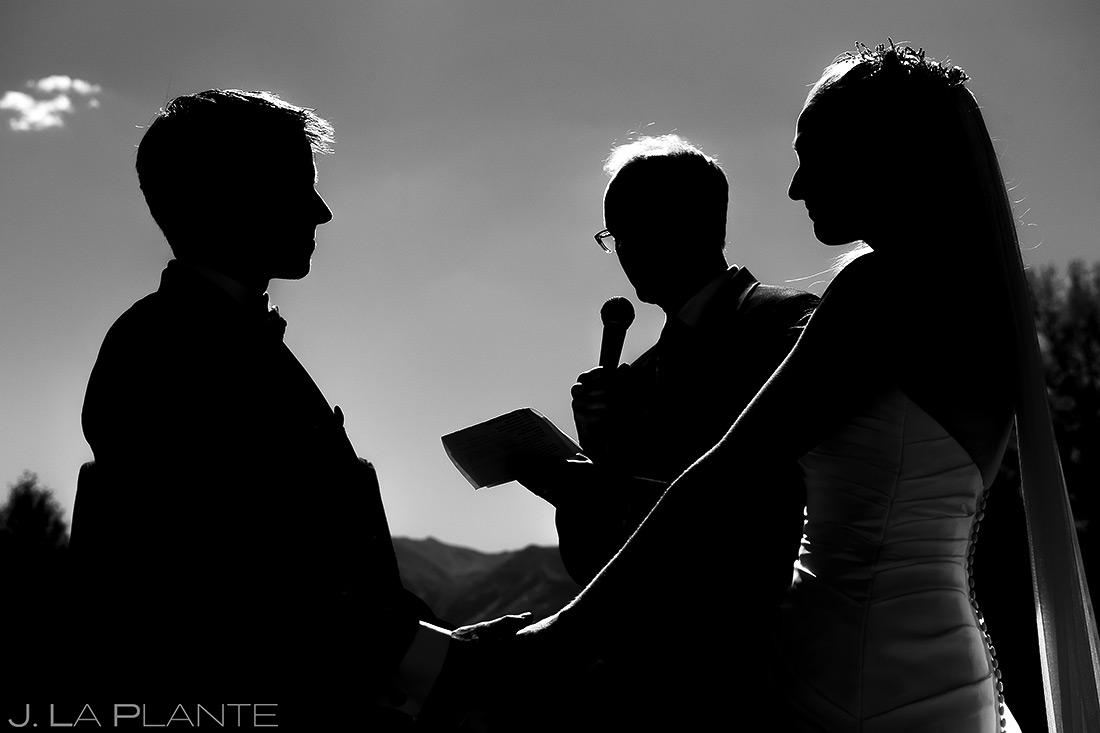 Outdoor Wedding Ceremony | Buena Vista Wedding | Rustic Mountain Wedding | Colorado Wedding Photographer | J. La Plante Photo