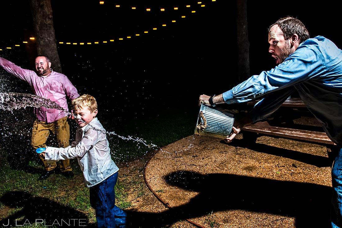 Wedding Water Balloon Fight | Dallas Wedding | Destination Wedding Photographer | J. La Plante Photo