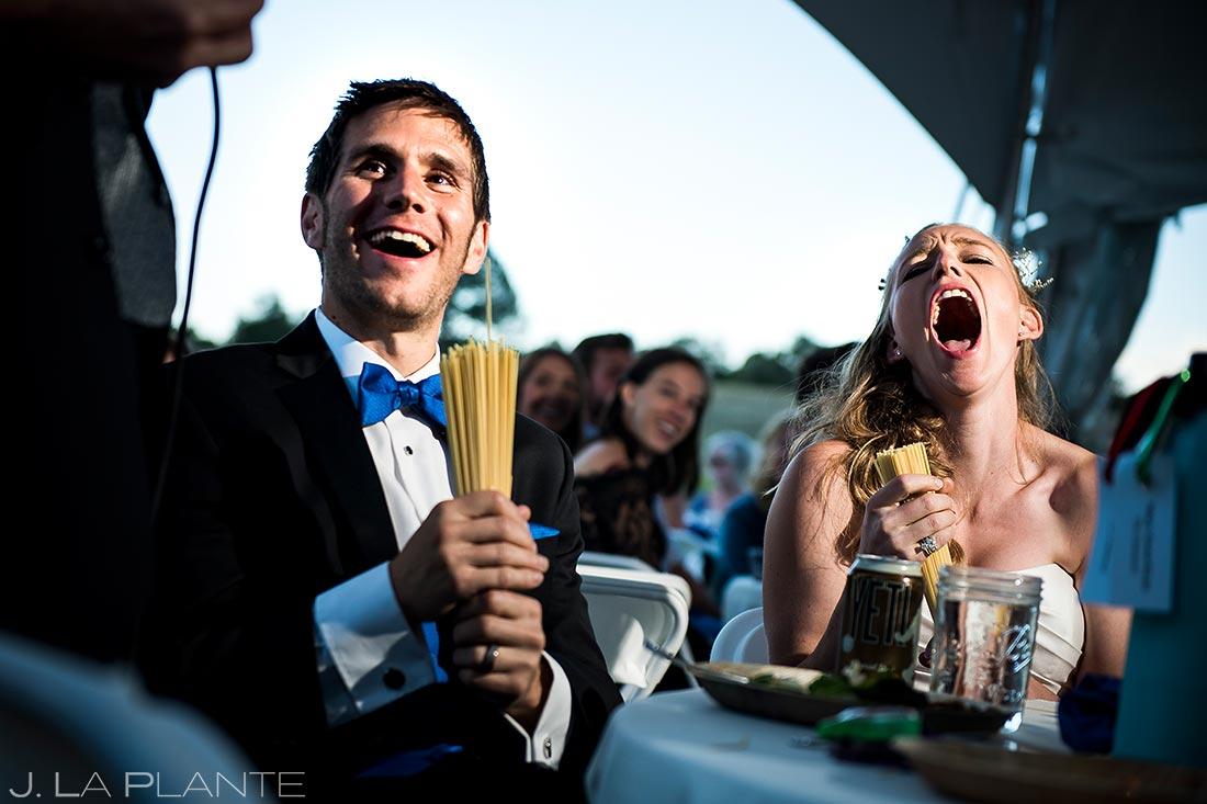Wedding Toasts | Buena Vista Wedding | Rustic Mountain Wedding | Colorado Wedding Photographer | J. La Plante Photo