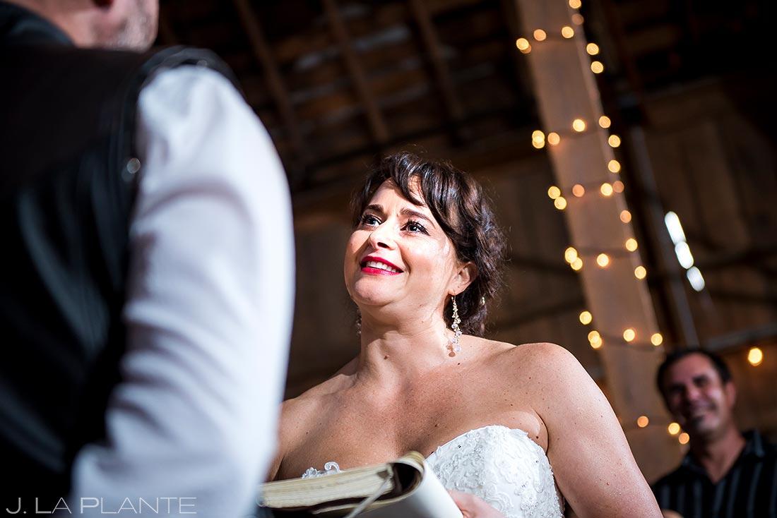 Rustic Barn Wedding Ceremony | Barnstar Wedding | Pacific Northwest Wedding | Destination Wedding Photographer | J. La Plante Photo