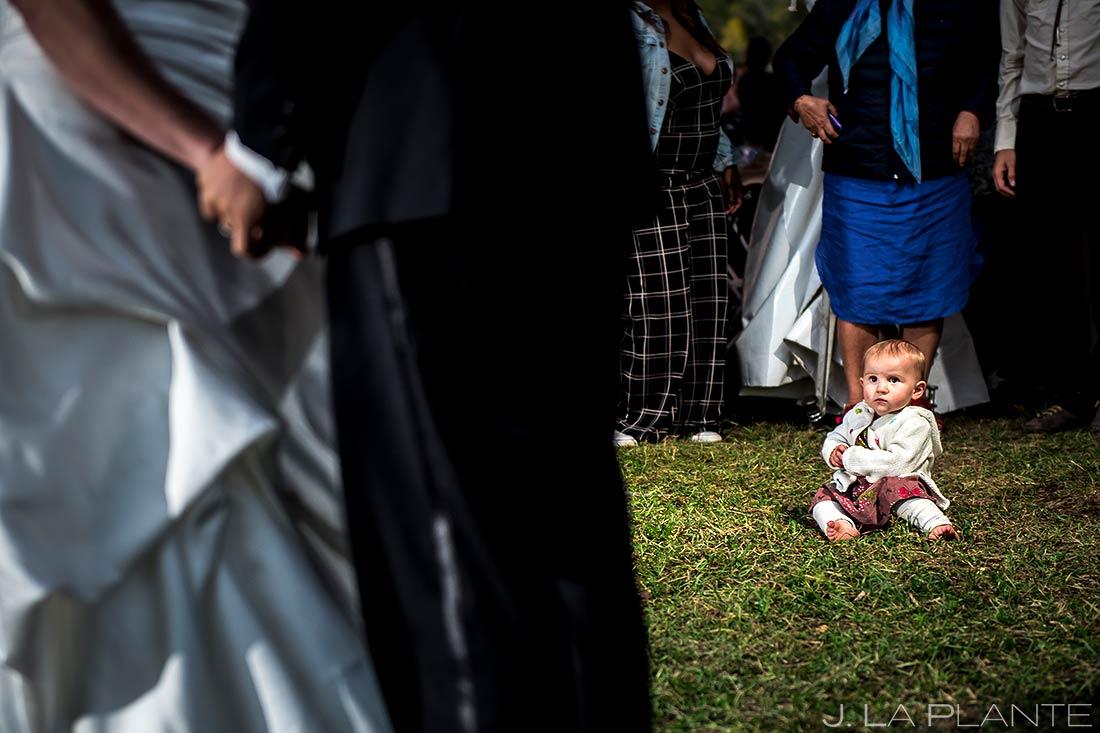Funny Wedding Kids | Buena Vista Wedding | Rustic Mountain Wedding | Colorado Wedding Photographer | J. La Plante Photo