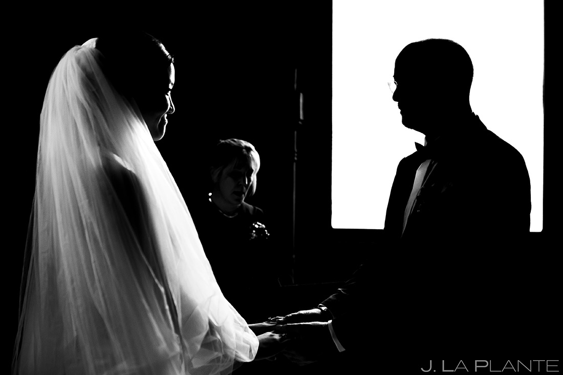 Bride and Groom Wedding Ceremony | Rhode Island Wedding | Destination Wedding Photographer | J. La Plante Photo