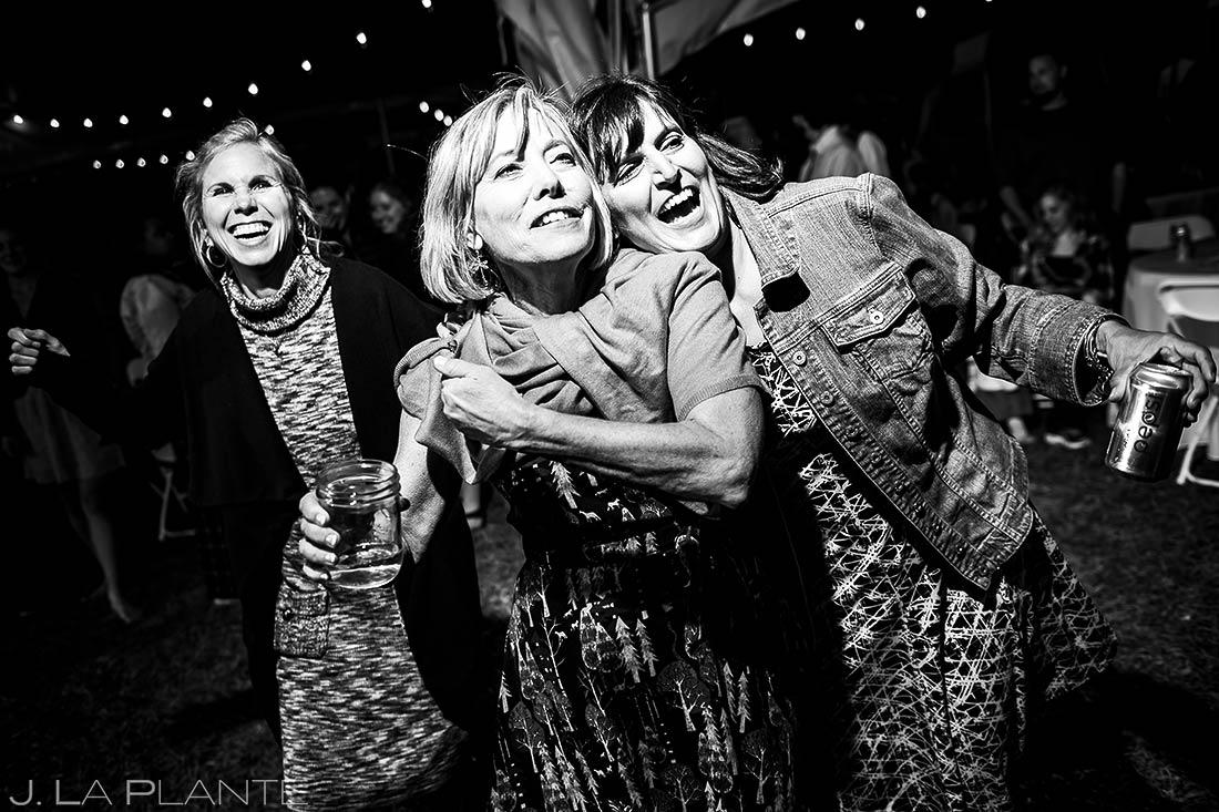 Wedding Guests | Rustic Mountain Wedding | Colorado Wedding Photographer | J. La Plante Photo