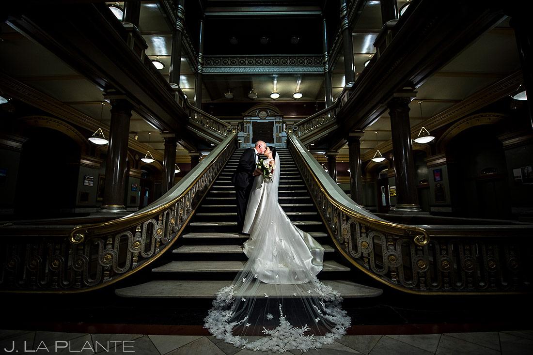 Bride and Groom Wedding Portrait | Rhode Island Wedding | Destination Wedding Photographer | J. La Plante Photo