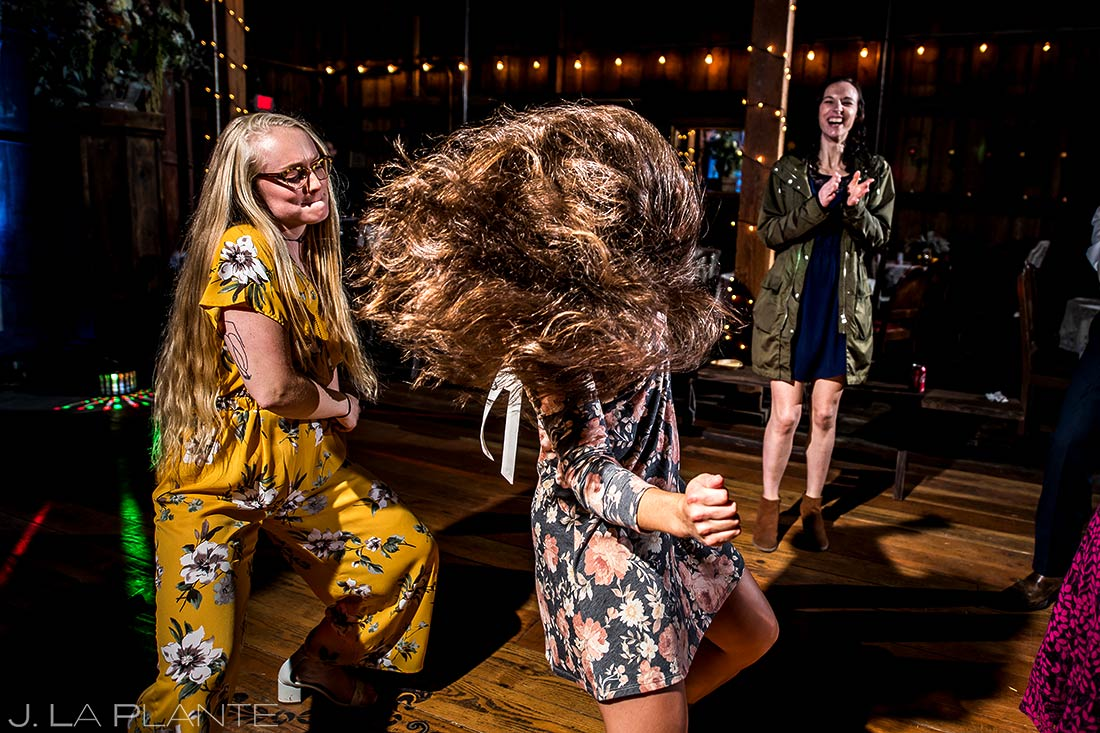 Wedding Reception Dance Party | Barnstar Wedding | Pacific Northwest Wedding | Destination Wedding Photographer | J. La Plante Photo