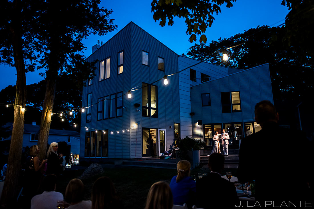 Bride and Groom Speeches | Providence Wedding | Destination Wedding Photographer | J. La Plante Photo