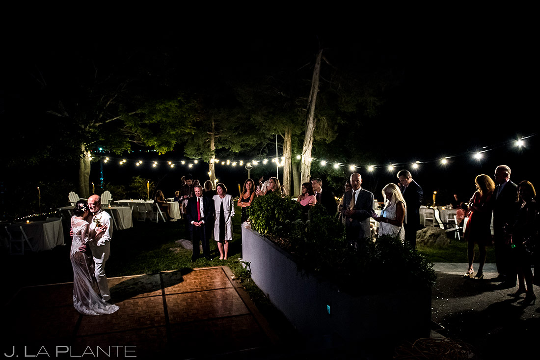 Bride and Groom First Dance | Rhode Island Wedding | Destination Wedding Photographer | J. La Plante Photo