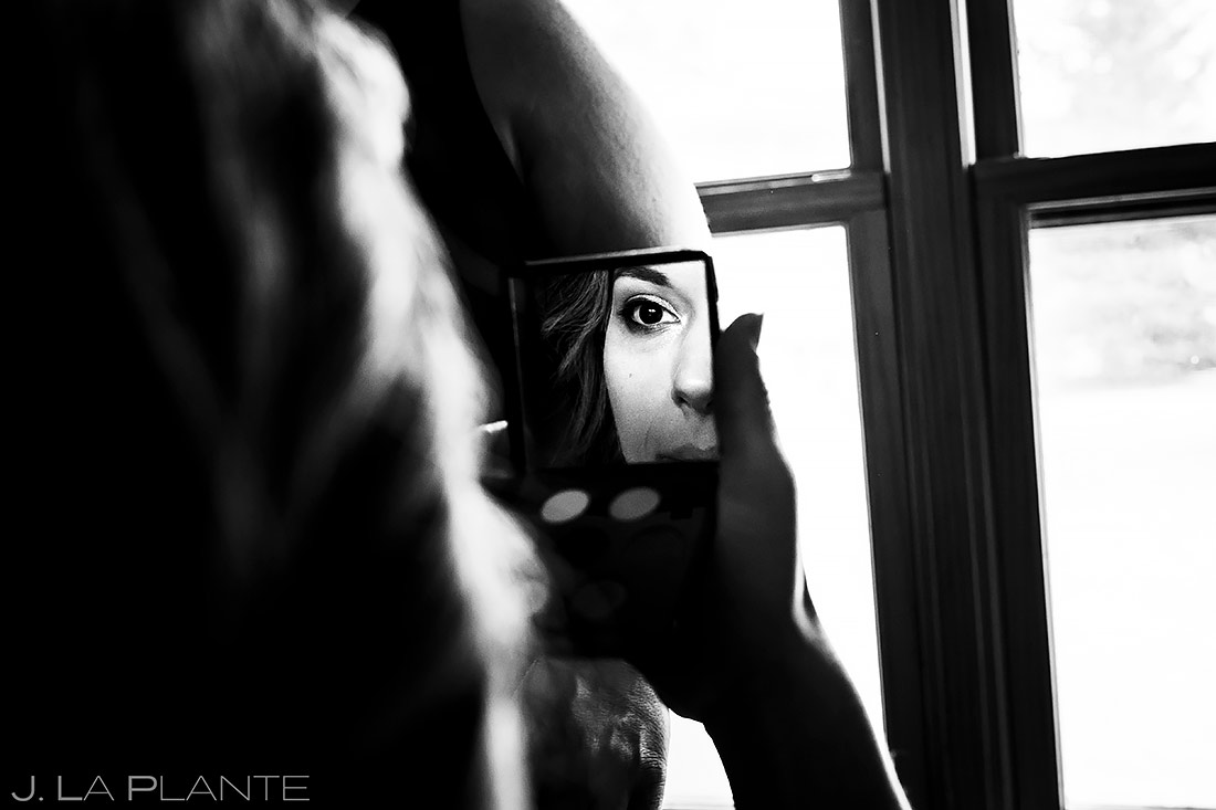 Bride Getting Ready | Lyons Wedding | Boulder Wedding Photographer | J. La Plante Photo