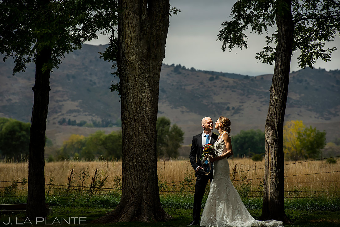 Cool Bride and Groom Photo   Boulder Wedding Photographer   J. La Plante Photo