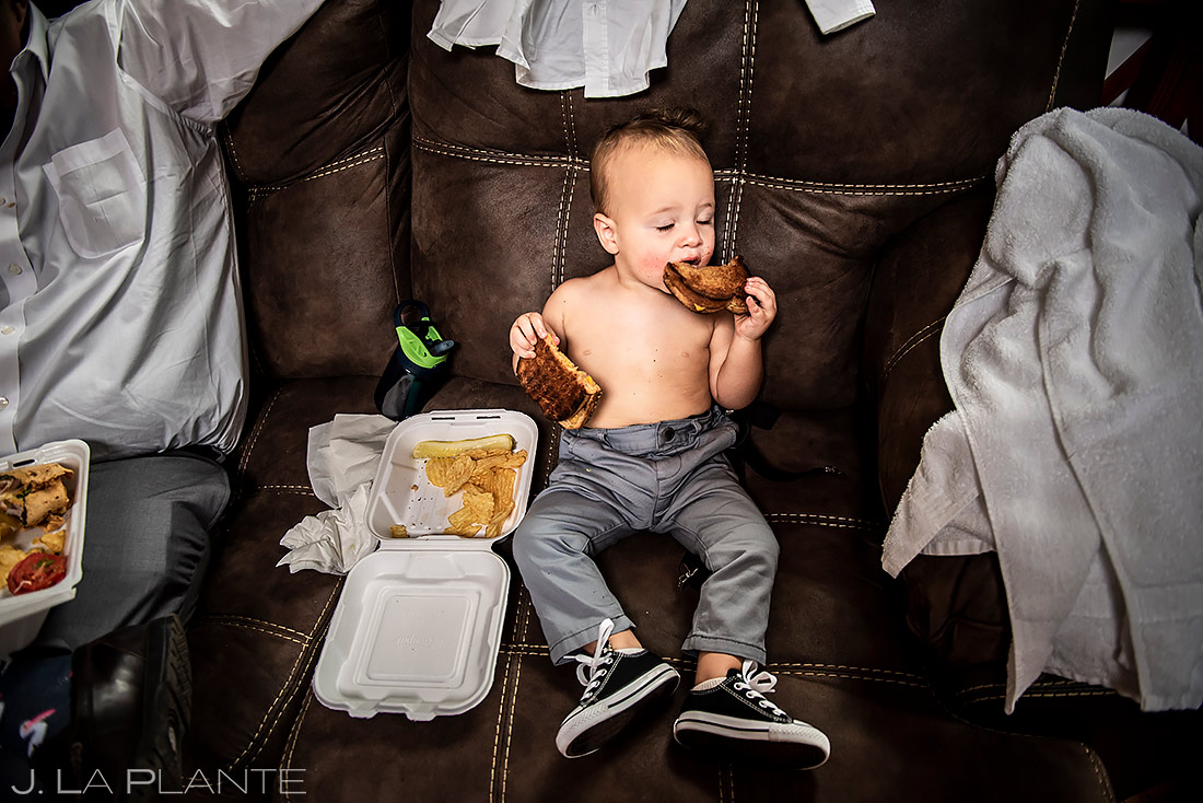 Cute Ring Bearer | Lyons Wedding | Boulder Wedding Photographer | J. La Plante Photo