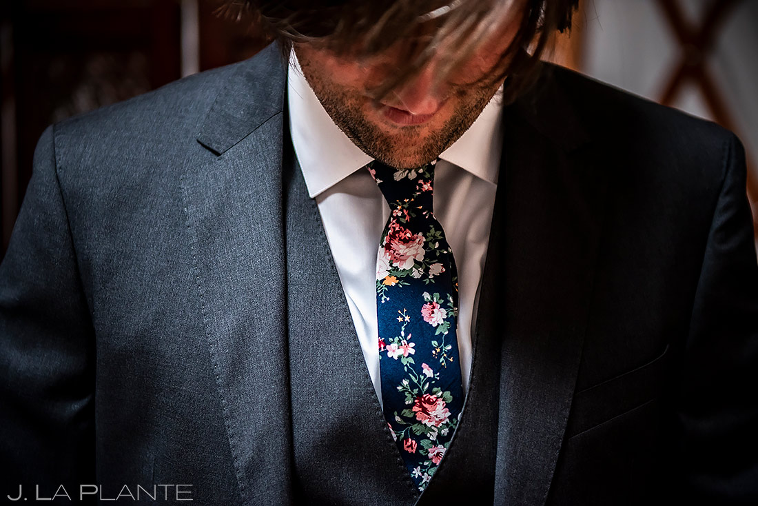 Groom Getting Ready | Lyons Wedding | Boulder Wedding Photographer | J. La Plante Photo