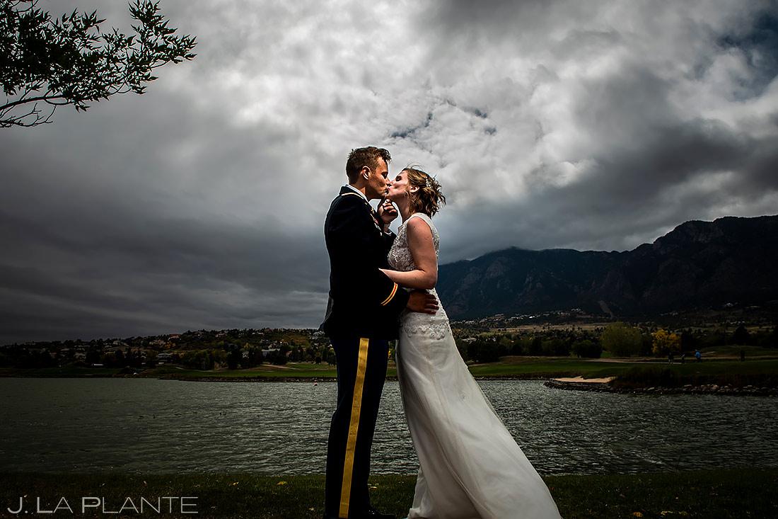 Bride and Groom Portrait | Colorado Springs Wedding Photographer | J. La Plante Photo