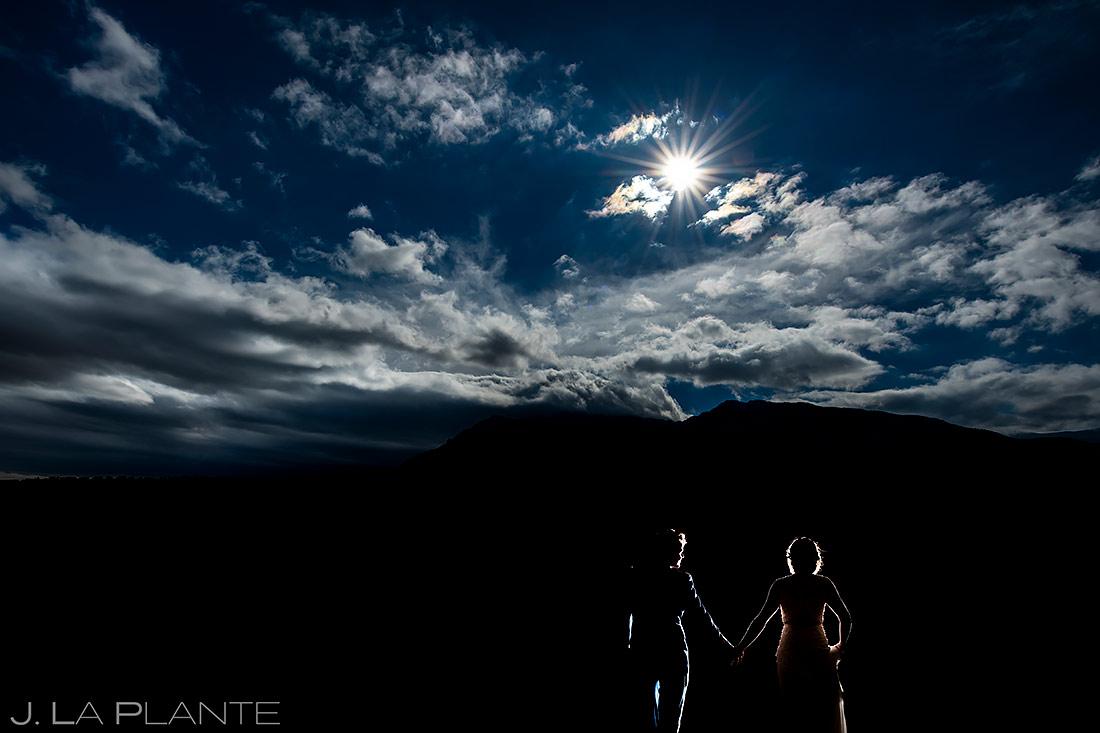 Bride and Groom Portrait | Cheyenne Mountain Resort Wedding | Colorado Springs Wedding Photographer | J. La Plante Photo