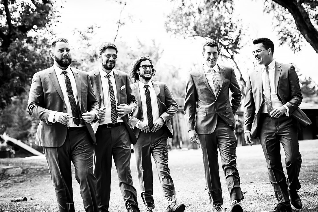 Groomsmen | Lyons Wedding | Boulder Wedding Photographer | J. La Plante Photo