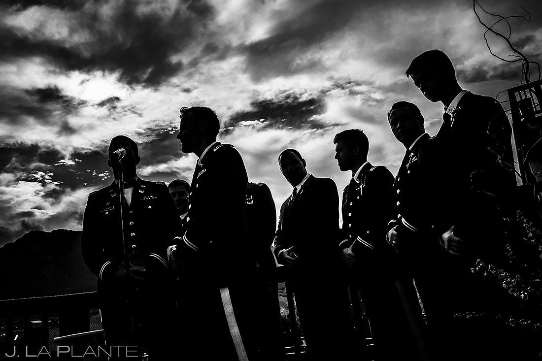 Mountain Wedding Ceremony | Cheyenne Mountain Resort Wedding | Colorado Springs Wedding Photographer | J. La Plante Photo